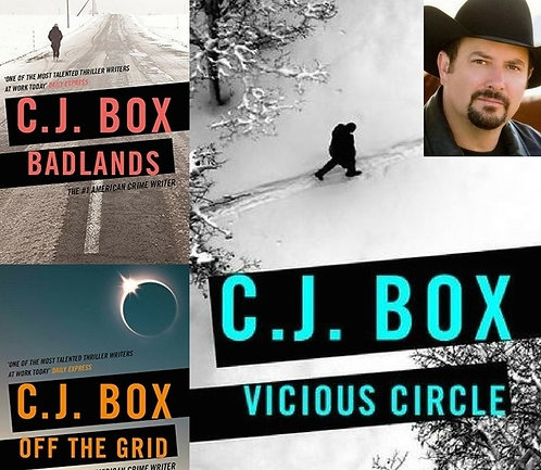 Thurs May 18: Crime & Whiskey! C.J. Box: Vicious Circle. Free.