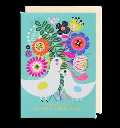 Happy Birthday Doves