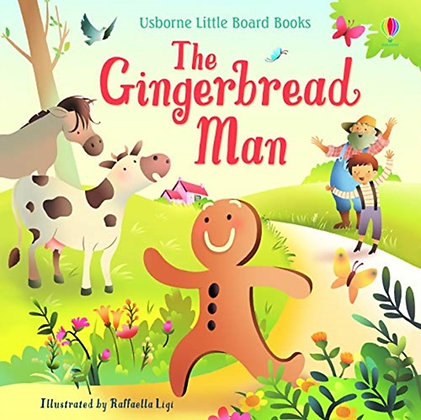 The Gingerbread Man: Listen and Read Storybooks