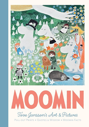 Moomin Pull-Out Prints : Tove Jansson's Art & Pictures by Tove Jansson