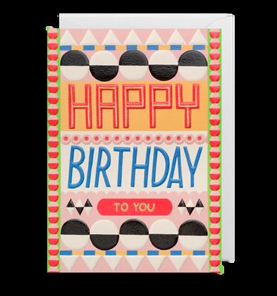 Happy Birthday Geometric