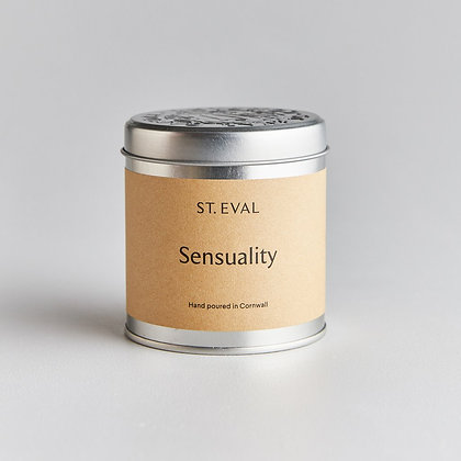 Sensuality Scented Tin Candle SHOP COLLECTION ONLY