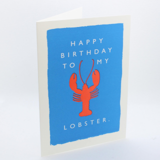 Happy Birthday Lobster