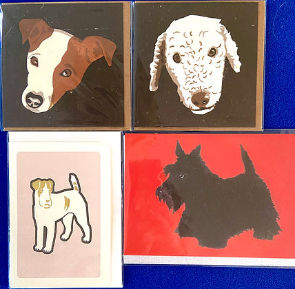Woofers Pack of 4 Cards