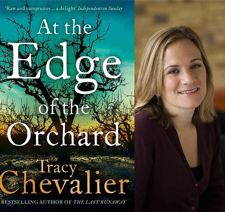Thur Apr 6th 7-8pm: Cocktail Book Signing with Tracy Chevalier