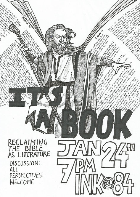 Thur Jan 24: The Bible As Literature Discussion Group FREE