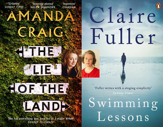 Wed Mar 14:New Fiction with Amanda Craig & Claire Fuller: Fractured Families 7pm