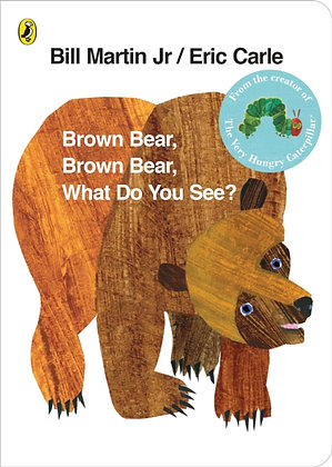Brown Bear, Brown Bear, What Do You See? by Bill Marti