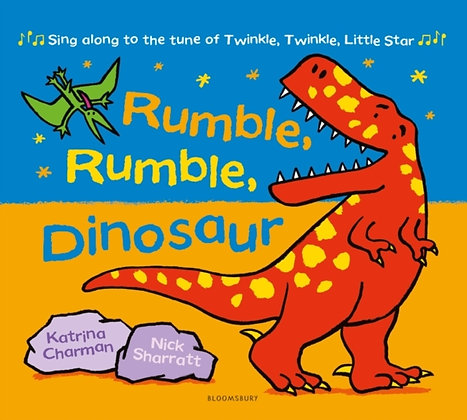 Rumble, Rumble, Dinosaur by Katrina Charman