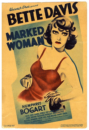 FRI OCT 26: MARKED WOMAN
