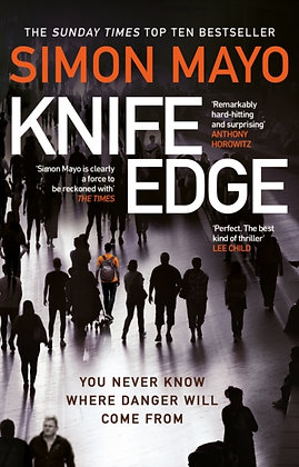 Knife Edge : the gripping Sunday Times bestseller by Simon Mayo
