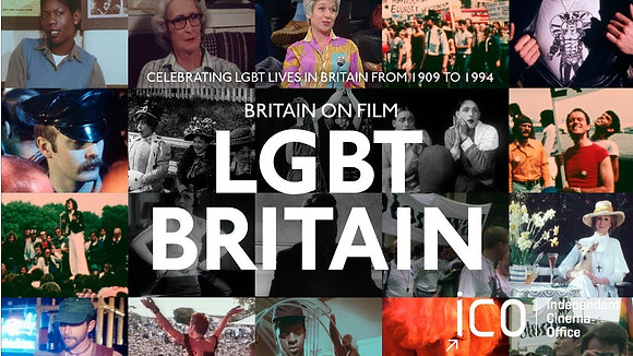 NOV 3: BRITAIN ON FILM: LGBT BRITAIN