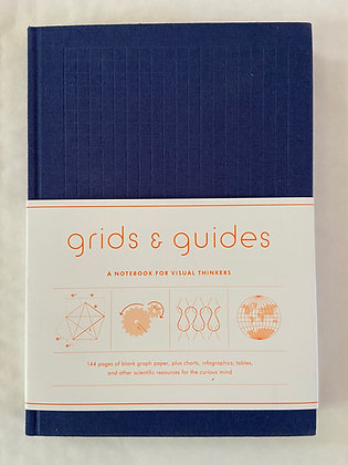 Grids & Guides Notebook : Navy