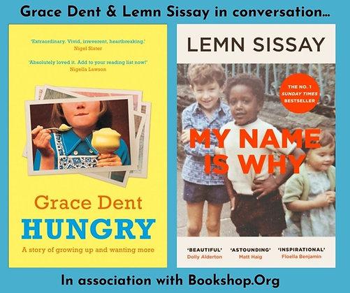 Thur June 24: Grace Dent & Lemn Sissay In Conversation FREE w/ book purchase