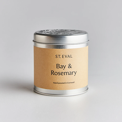 Bay & Rosemary Scented Tin Candle SHOP COLLECTION ONLY
