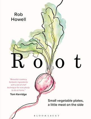 Root : Small vegetable plates, a little meat on the side by Rob Howell