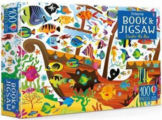 Jigsaw Under the Sea with Book by Kirsteen Robson