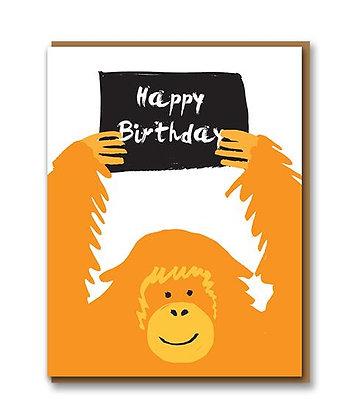 Orangutan Birthday