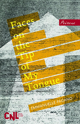 Thur Oct 24th: Faces On The Tip Of My Tongue with Joanna Walsh 7pm
