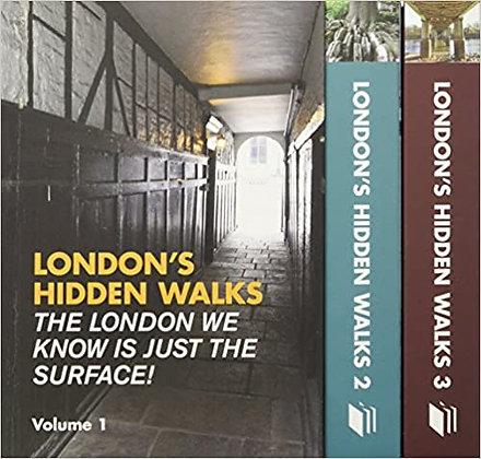 London's Hidden Walks : Volumes 1-3 Box Set by Stephen Millar
