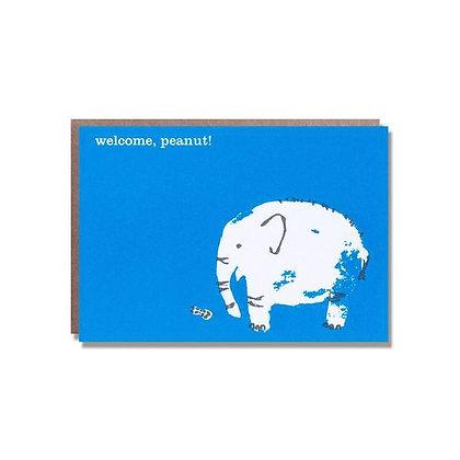 Mini Peanut Card