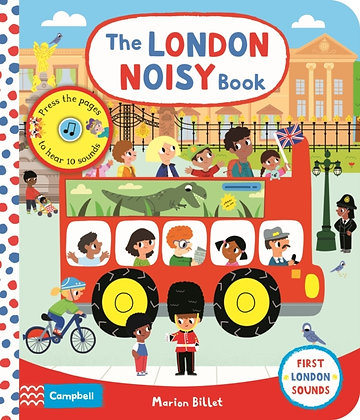 The London Noisy Book : A Press-the-page Sound Book
