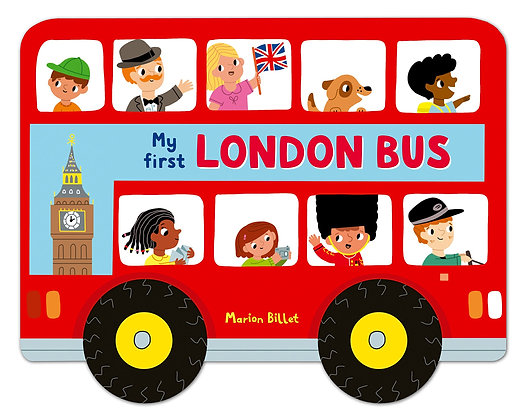 My First London Bus: Cloth Book