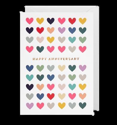 Happy Anniversary Many Hearts