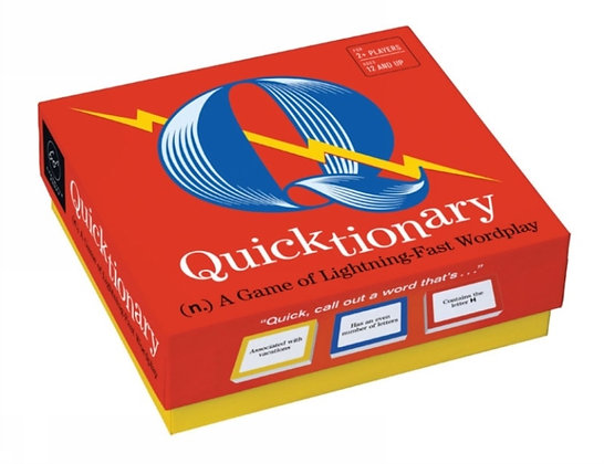 Quicktionary : A Game of Lightning-fast Wordplay