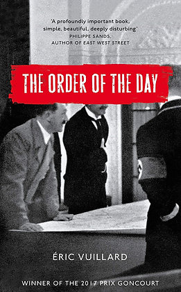 Wed Apr 3rd: Ink & Drink Book Club THE ORDER OF THE DAY 7pm FREE