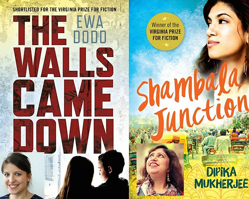 Thur Feb 8: Virginia Prize for Fiction 7pm FREE PLEASE BOOK ON EVENTBRITE