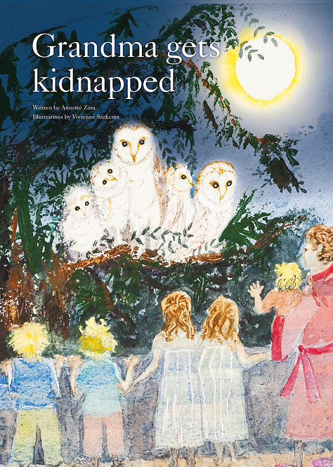 Tues May 22nd 3:30pm: GRANDMA GETS KIDNAPPED with Annette Zera. FREE