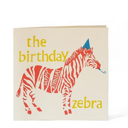 Birthday Zebra