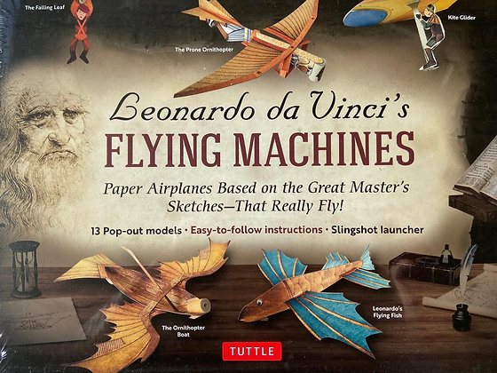 Leonardo da Vinci's Flying Machines