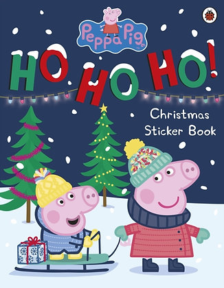Peppa Pig Ho Ho Ho Christmas Sticker Book