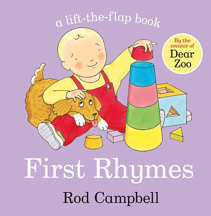 First Rhymes Lift The Flap by Rod Campbell