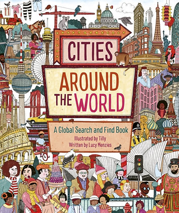 Cities Around the World : A Global Search and Find Book