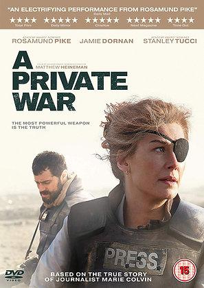 Fri Oct 25: A Private War
