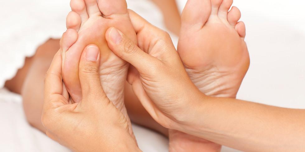 Kurz reflexní masáže chodidel