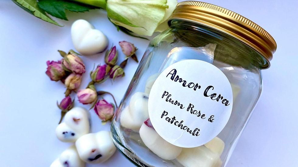 Plum Rose & Patchouli Jar of Melts
