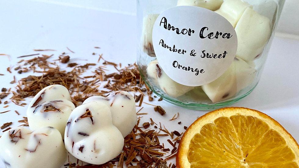Amber & Sweet Orange Jar of Melts