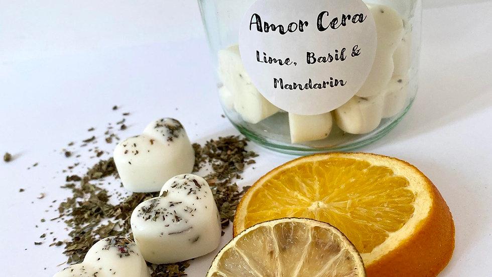 Lime, Basil & Mandarin Jar of Melts