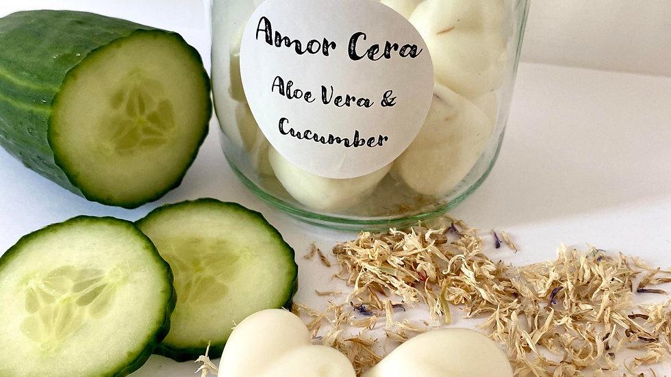 Aloe Vera & Cucumber Jar of Melts