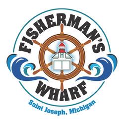 Logo Wharf 3 Blue SJ White Bkgrd