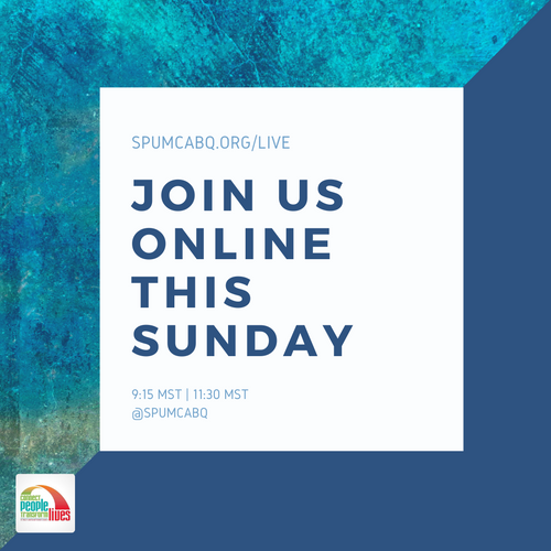 Join Us Online This Sunday
