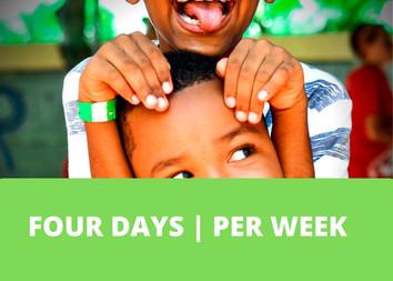 FOUR DAYS | PER WEEK