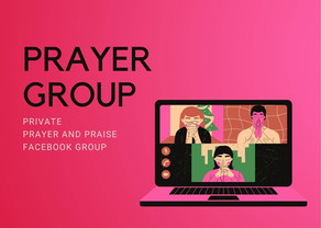 Join our Prayer Group on Facebook