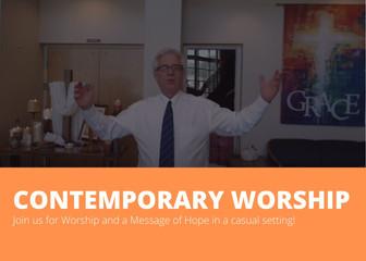 11:30 Contemporary Worship