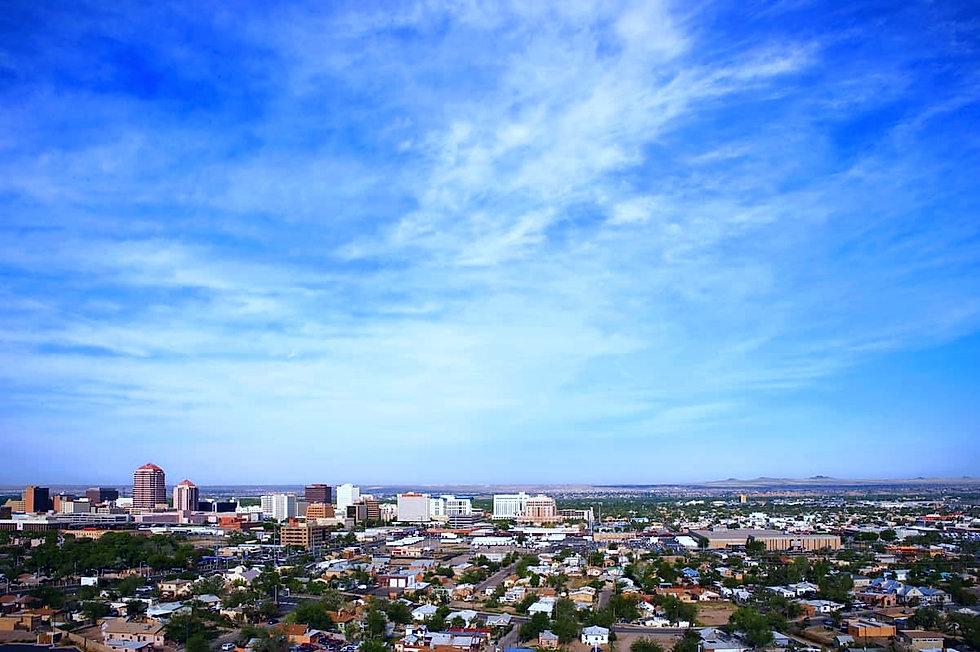 Albuquerque city skyline