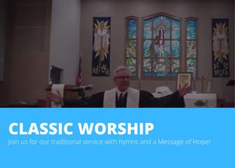 9:15 Classic Worship